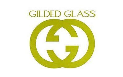 gilded-glass